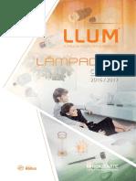 Catálogo Geral Lâmpadas LLUM (2016-2017)