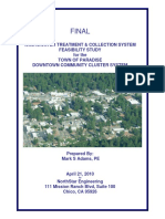 2010 TOP Wastewater Treatment Collection System Feasibility Study for the Downtown Community Cluster System