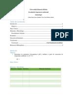 Informe 2 Limnología Turbidez Temperatura