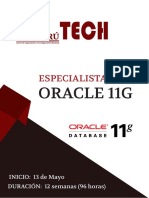 Brochure Especialista en Oracle 11g
