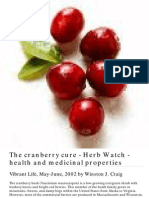 Cranberries - Urinary Tract Health (ColiE., Helicobacter