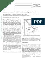 Polaris Astrometric Orbit Position Proper Motion (Wielen 2000)