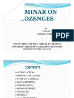 Lozenges Drud Delivery Vehicles