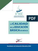 La Calidad de La Educación Básica en México
