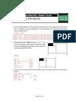 Soal Dan Pembahasan Uraian Osn Matematika