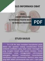 Studi Kasus Informasi Obat Isk