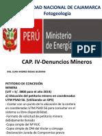Cap. 4 Denuncios Mineros.