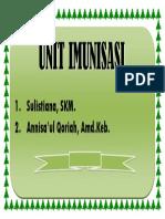 Unit Imunisasi