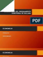 Analisis Foda Del Ordenamiento Territorial de Sullana