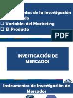 Instrumentos de investigación de mercado
