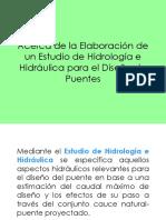 Puentes Hidrologia e Hidraulica