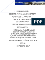 Microbiología Reporte Práctica 1