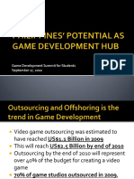 Philippines as Game Development Hub (Game Development Summit for Students - 2010)