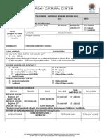 Registration Form E - Intensive Korean Language.doc