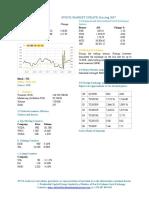 Market Update 31st August 2017