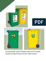 Logo Pada Wadah Sampah