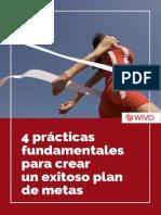 4 Practicas Fundamentales Para Crear Un Exitoso Plan de Metas