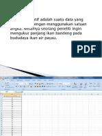 Prekuensi Data Kuantitatif