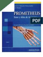Prometheus Tomo I (TEXTO Y ATLAS) Anat. General y Aparato Locomotor 1ED
