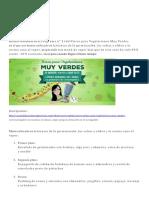 Algunas Recetas Programa 21 Curso Para Veetarianos Muy Verdes de Ana Moreno
