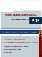 Costumbre Internacional.