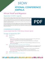 NOW International Conference Kampala 2017
