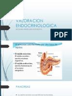 VALORACION ENDOCRINOLOGICA