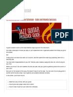30 Minute Guitar Practice Schedule - Da...Weekly Exercises | MATT WARNOCK GUITAR