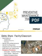 Preventative Maintenance Training Final