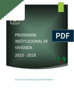 Programa Institucional Invi 1318