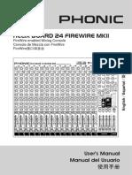 Helix Board 24 FireWire MKII - Manual
