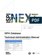 ISPA Database Technical Administration Manual V1.2.1 ENG