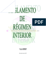 Reglamento de Régimen Interior Mirobriga
