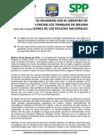 Nota Prensa Situacion Mesa Igualacion Salarial 29082017