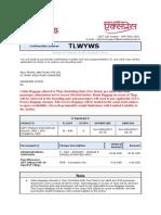 Gopinath Ticket