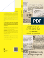 2 Cover Conceptual History in the European Space