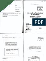 Informação e Transferencia tecnologia SENAI.pdf