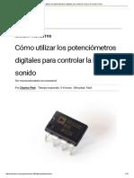 Cómo Utilizar Los Potenciómetros Digitales Para Controlar La Luz y El Sonido _ Hacer