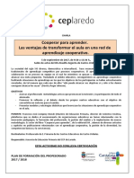 CHARLA Aprendizaje Cooperativo CEP Laredo 5-8-17