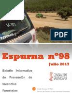 Boletín Espurna julio 2017