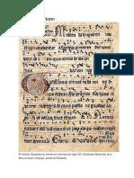 Canto GregorianoGERMAN
