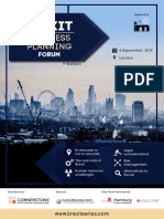 Brexit Business Planning Forum - Agenda.pdf