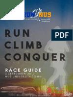 RunNUS E Booklet