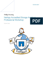 307213370 Student Guide NetApp Accredited Storage Architecture Professional Workshop