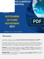 SMN - PRONÓSTICO CLIMÁTICO TRIMESTRAL
