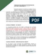 Contrato de Prestação de Serviços de Arquitetura-cau_rn