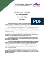 Informative Journal