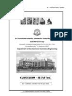 Syllabus (2015 - 2016batch) Third Year