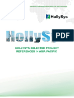 HollySys Project Reference in Asia Pacfic_20140613亚太区域业绩(所有海外项目)