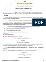 Decreto 96.044 de 18.05.1988 - Aprova o Regulamento Para o Transporte Rodoviário de Produtos Perigosos